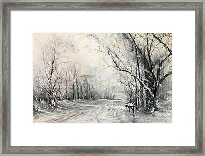 Dee Street Series Winter Wonderland Framed Print