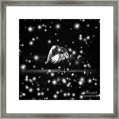 Winter's Melody Framed Print by K'lee L