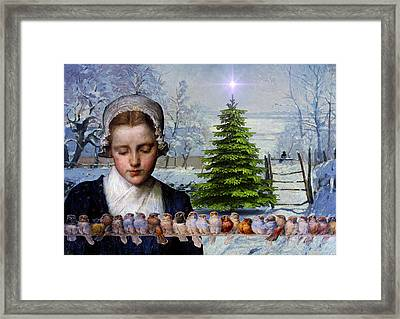 Winters Past Framed Print