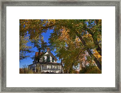 Winters Ranch Framed Print by Donna Kennedy