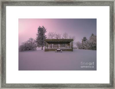 Winter's Stage Framed Print by Ian McGregor