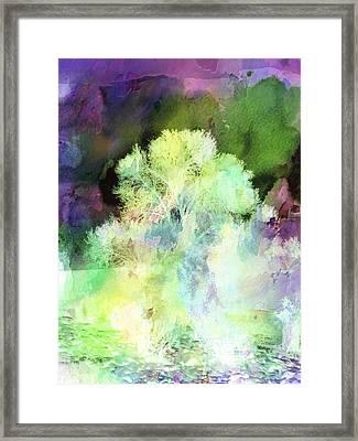 Winters Storm Framed Print