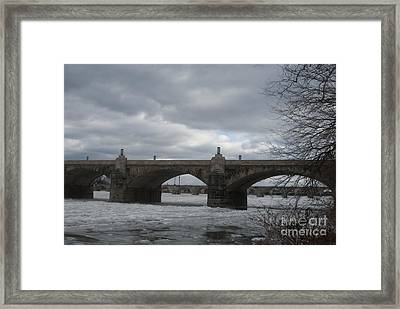 Winters Storm Rolling In   # Framed Print