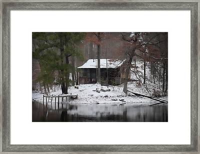 Winters Touch - Best Seller - Artist Cris Hayes Framed Print