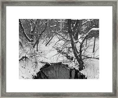 Winter's Touch Framed Print by Scott Kingery