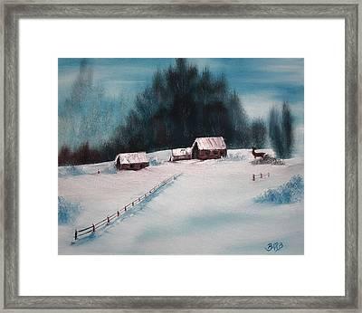 Winterscene Framed Print