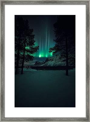 Winterspell Framed Print by Tor-Ivar Naess