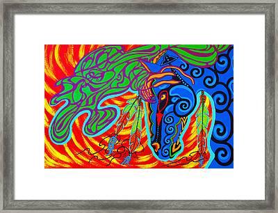 Winter Spirit Framed Print