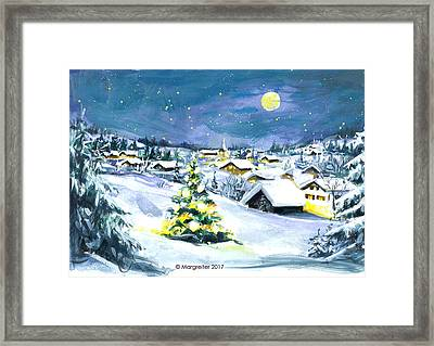 Winterwonderland Framed Print