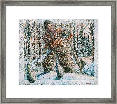 Winterwoods Framed Print by Jim Rehlin
