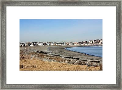 Winthrop Ma Framed Print