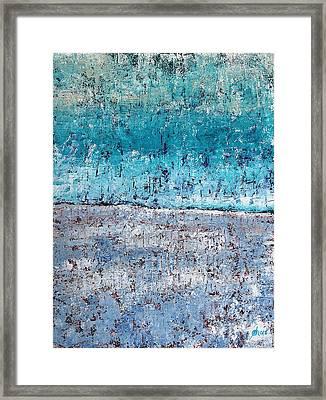 Wintry Mesa Framed Print