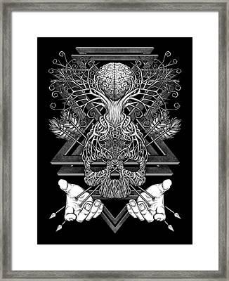 Winya No. 57 Framed Print by Winya Sangsorn