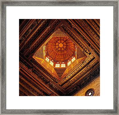 Al Ghuri Dome Framed Print