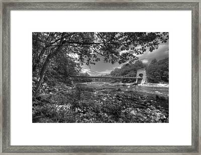 Wire Bridge Framed Print