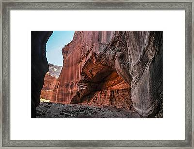 Wire Pass Archway Framed Print