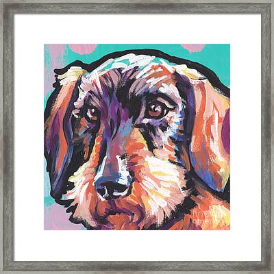 Wire Weenie Framed Print by Lea S