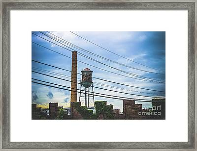 Wired Framed Print by Colleen Kammerer