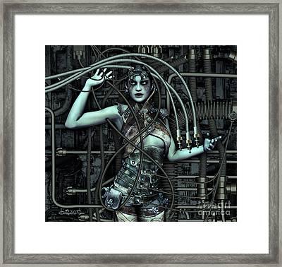 Wired Framed Print by Jutta Maria Pusl