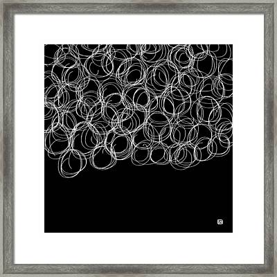 Framed Print featuring the painting Wired by Lisa Weedn