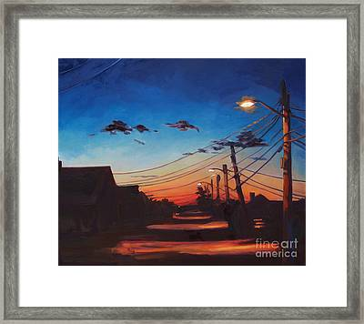 Wired Framed Print by Patricia A Griffin