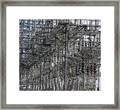 Wired Framed Print by Robert Pearson