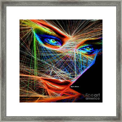 Wiretapped Period Framed Print