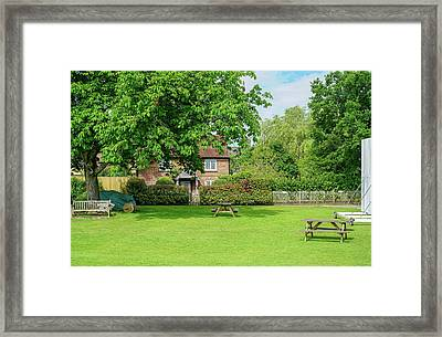 Wisborough Cricket Green Framed Print