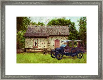 Wisconsin Homestead 10 Framed Print by Jack Zulli