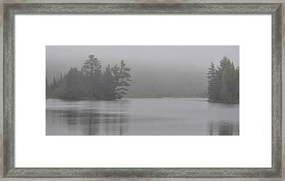 Wisconsin In Grey And Green Framed Print
