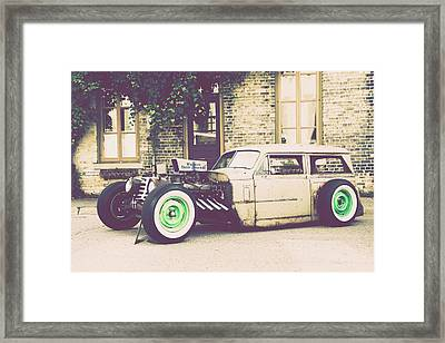 Wisconsin State Journal Ratrod Framed Print by Joel Witmeyer