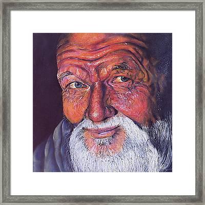 Wisdom Framed Print by Curtis James