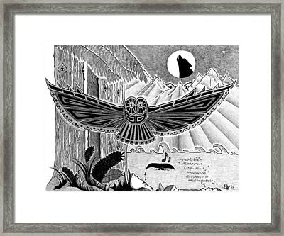 Wisdom Of The Ancestors  Framed Print