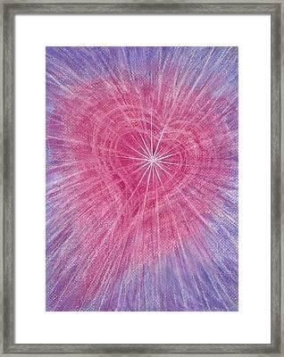 Wisdom Of The Heart Framed Print
