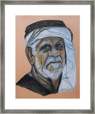 Wisdom Portrait Framed Print