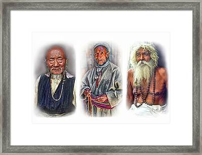 Wisdom - Such A Long Journey 2 Framed Print