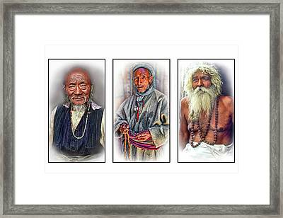 Wisdom - Such A Long Journey 3 Framed Print