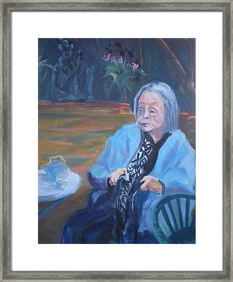 Wisdon In Carmel Framed Print by Bryan Alexander
