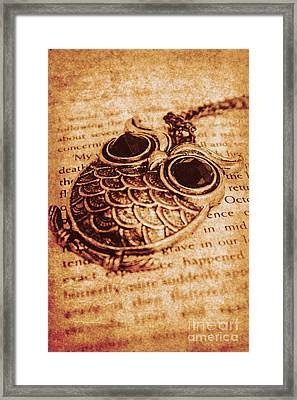Wise Words And Keepsakes Framed Print by Jorgo Photography - Wall Art Gallery