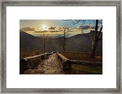 Wisemans View Framed Print