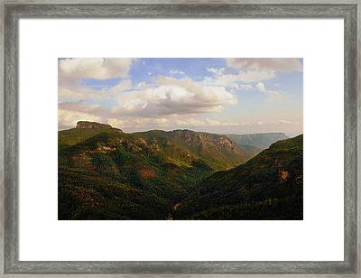 Framed Print featuring the photograph Wiseman's View by Jessica Brawley