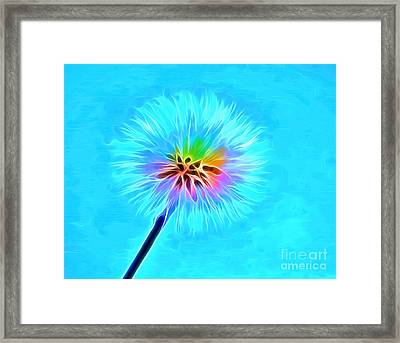 Wish From The Soul Framed Print by Krissy Katsimbras
