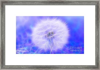 Wish Of Magic Framed Print by Krissy Katsimbras