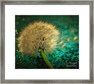 Wish Of Utopia Framed Print by Krissy Katsimbras