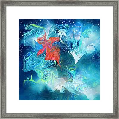 Wish On A Star Framed Print by Rachel Christine Nowicki