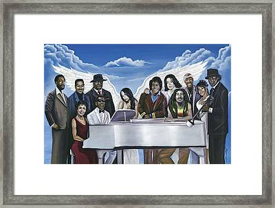 Wish You Were Here Framed Print by Stacy V McClain