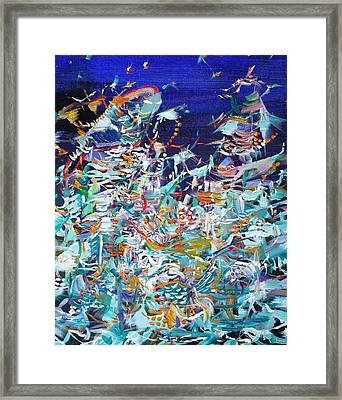 Framed Print featuring the painting Wishes by Fabrizio Cassetta