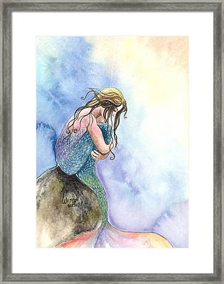 Wishful Thinking Framed Print by Kim Sutherland Whitton