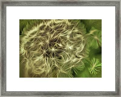 Framed Print featuring the mixed media Wishies by Trish Tritz
