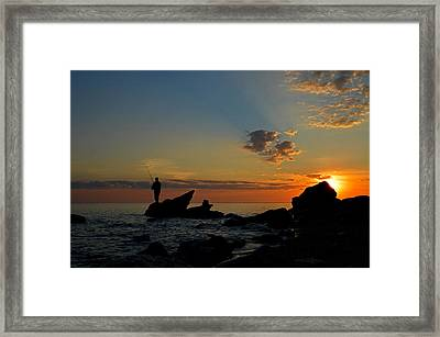 Wishing On A Star Framed Print